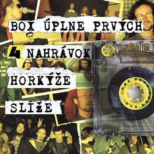 CD BOX úplne prvých 4 nahrávok HS