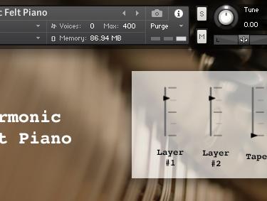 Harmonic Piano