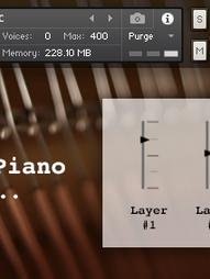 Flickering Piano