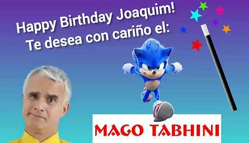 show virtual de magia para niños del Mago Tabhini, show de magia virtual interactivo, show de magia online para niños