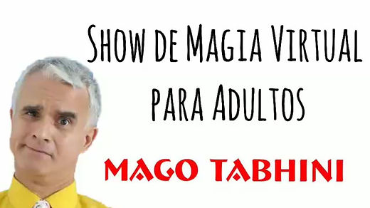 Show Virtual de magia para adultos, shows virtuales happy hour, show cirtual para adultos