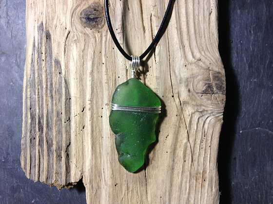 Green Sea Glass - LRSGJ420