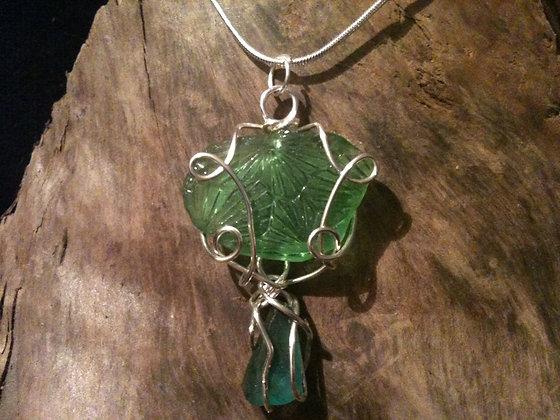 Green Sea Glass - LRSGJ59