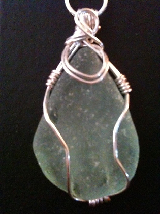 Aqua Sea Glass - LRSGJ25