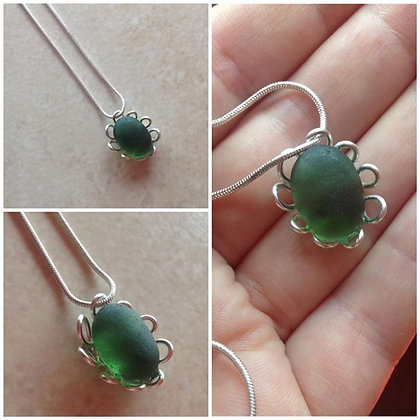 Green Sea Glass- LRSGJ612