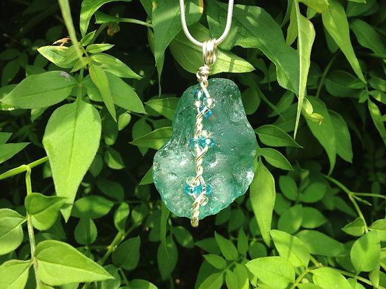 Blue Sea Glass - LRSGJ186