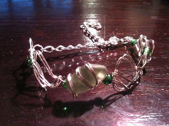 Green Sea Glass - LRSGJ229