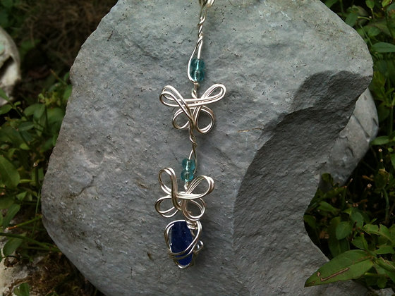 Cobalt Sea Glass - LRSGJ323