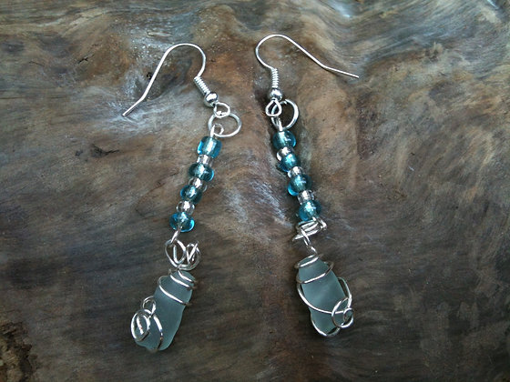 Aqua Sea Glass - LRSGJ101