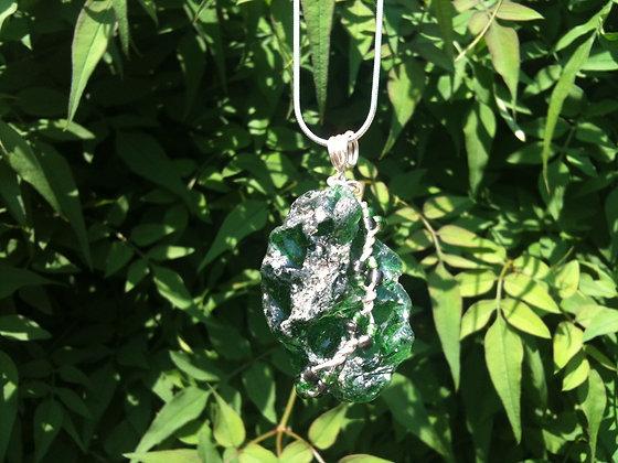 Green Sea Glass - LRSGJ238