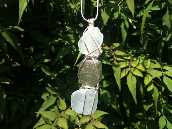 Multi Coloured Sea Glass - LRSGJ239