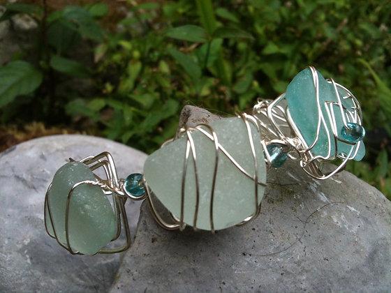 Blue Sea Glass - LRSGJ304