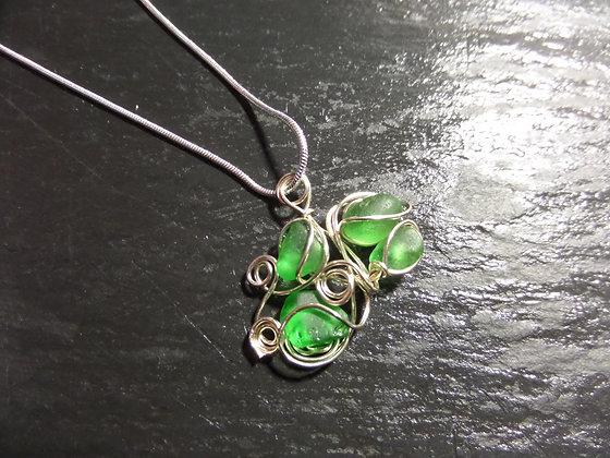 Green Sea Glass - LRSGJ489