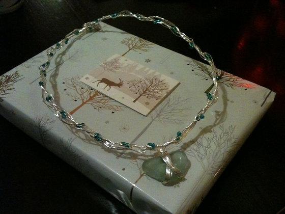 Aqua Sea Glass - LRSGJ403