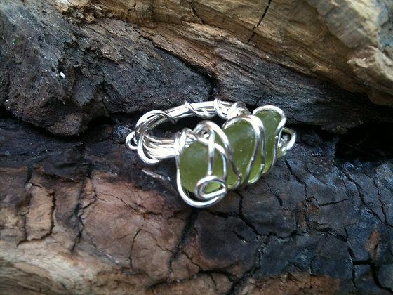 Green Sea Glass - LRSGJ115