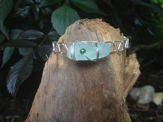 Aqua Sea Glass - LRSGJ157