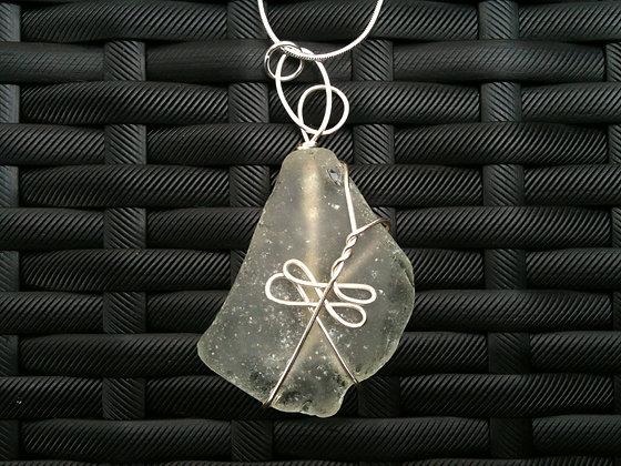 White Sea Glass - LRSGJ277