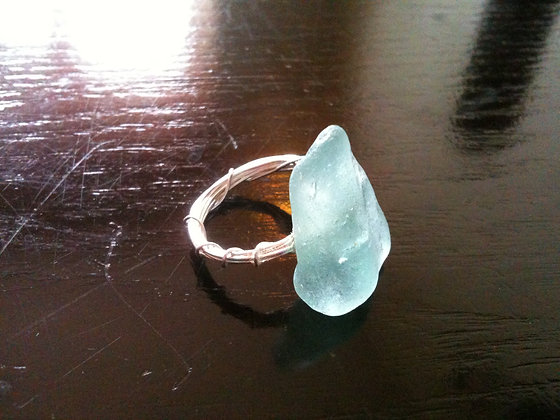 Aqua Sea Glass - LRSGJ355