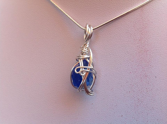 Reserved for Sue Burge - Cobalt Sea Glass