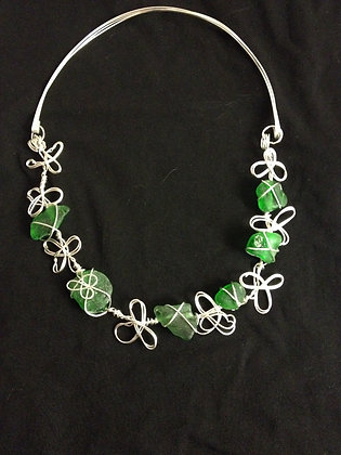 Green Sea Glass - LRSGJ567