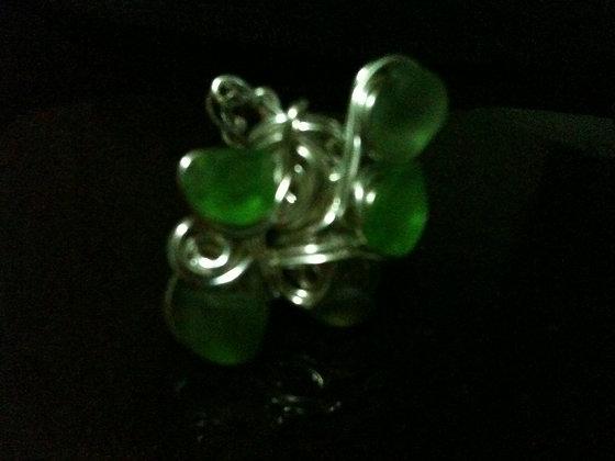 Green Sea Glass LRSGJ597
