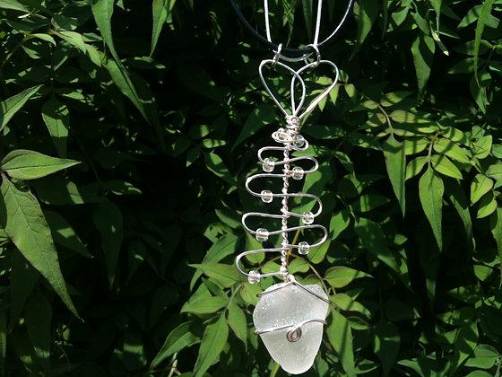 White Sea Glass - LRSGJ235