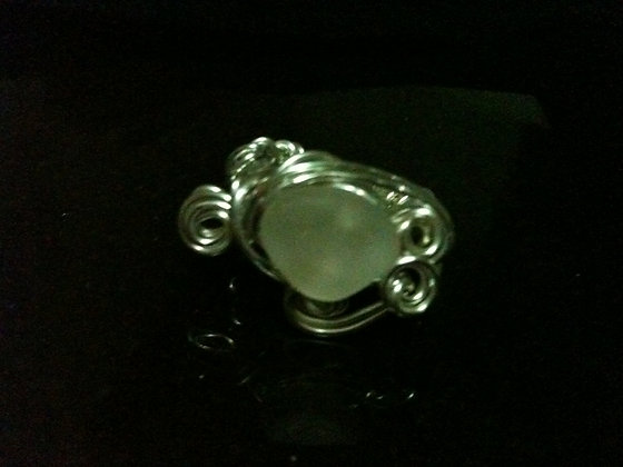 White Sea Glass - LRSGJ596