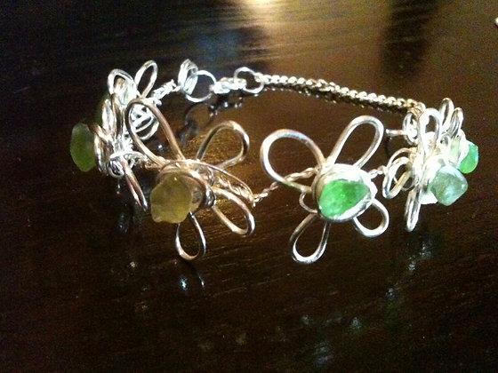 Green Sea Glass - LRSGJ362