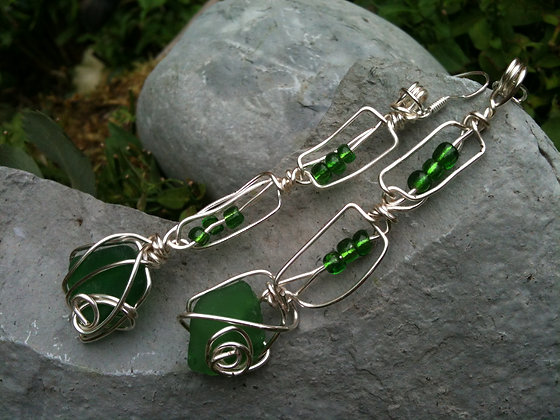 Green Sea Glass - LRSGJ300