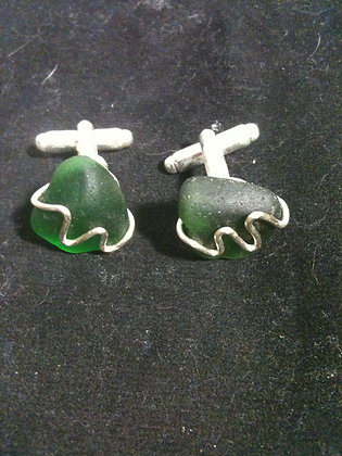 Green Sea Glass - LRSGJ576