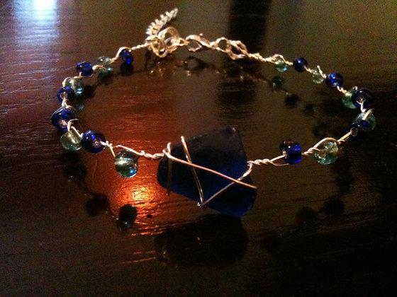 Cobalt Sea Glass - LRSGJ202