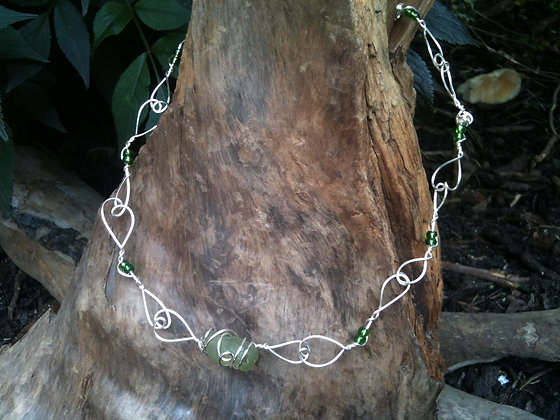 Green Sea Glass - LRSGJ144
