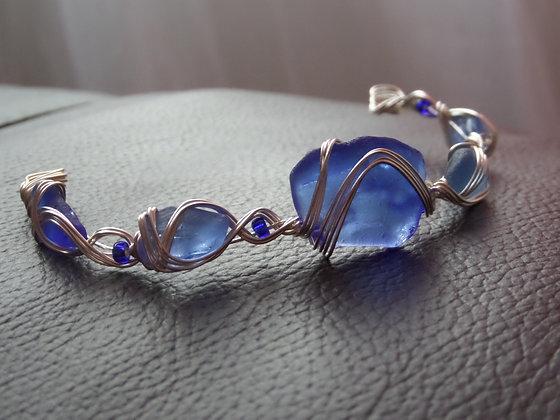 Blue Sea Glass - LRSGJ484