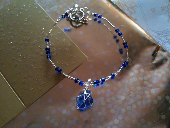 Colbalt Blue sea Glass - LRSGJ405