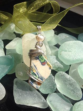 Pottery & Freshwater pearl - LRSGJ603