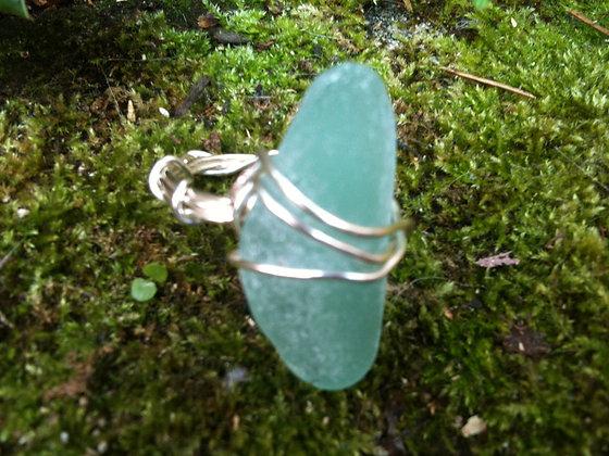 Aqua Sea Glass - LRSGJ114