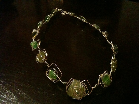 Green Sea Glass - LRSGJ171