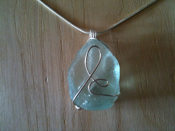 Aqua Sea Glass - LRSGJ28