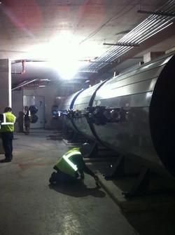 Marriott tanks installed