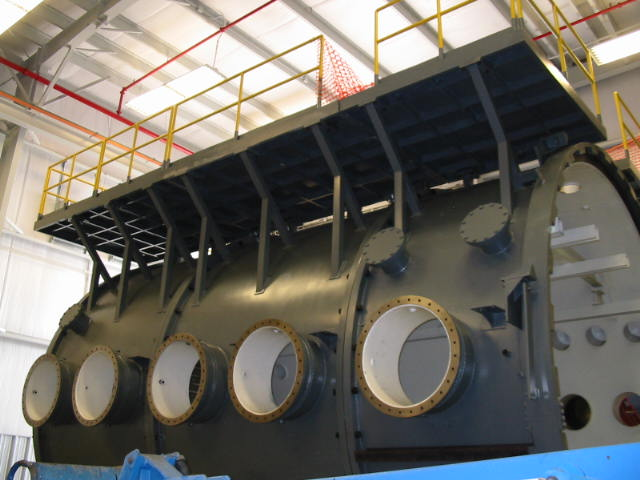 Vacuum Furnace Exhaust