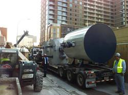 Marriott tanks on truck