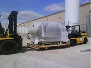 Wrapped and palletized machine