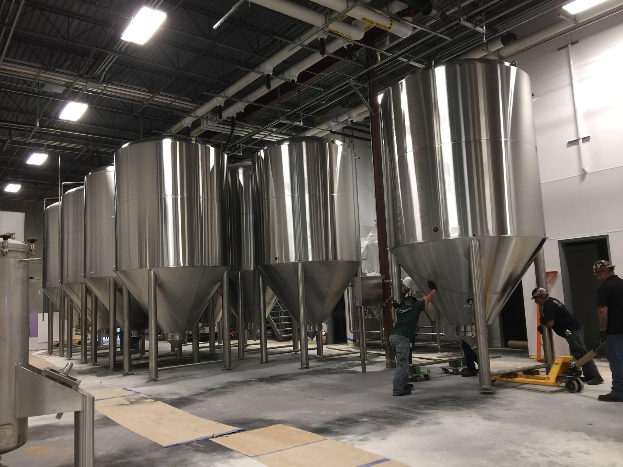 Celis Brewery Tanks