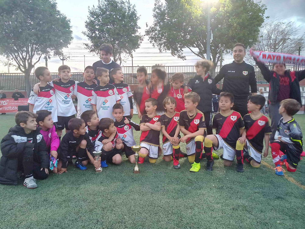 UDM Elida Olimpia junto con R.Vallecano SAD