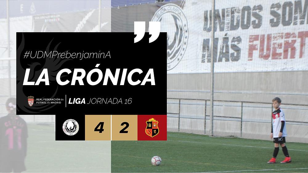 La Crónica | #UDMPrebenjamínA JORNADA 16