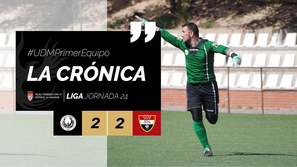 Crónica Primer Equipo Jornada 24