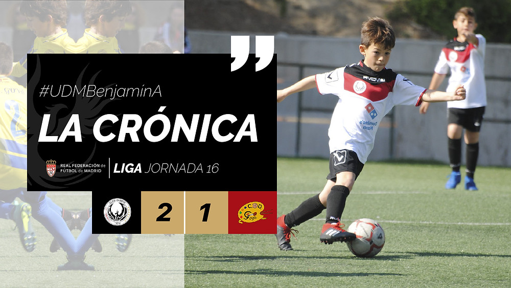 La Crónica #UDMBenjamínA JORNADA 16