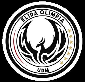 Escudo UDM Elida Olimpia - Firma de fichas y derechos de imagen 2019/2020
