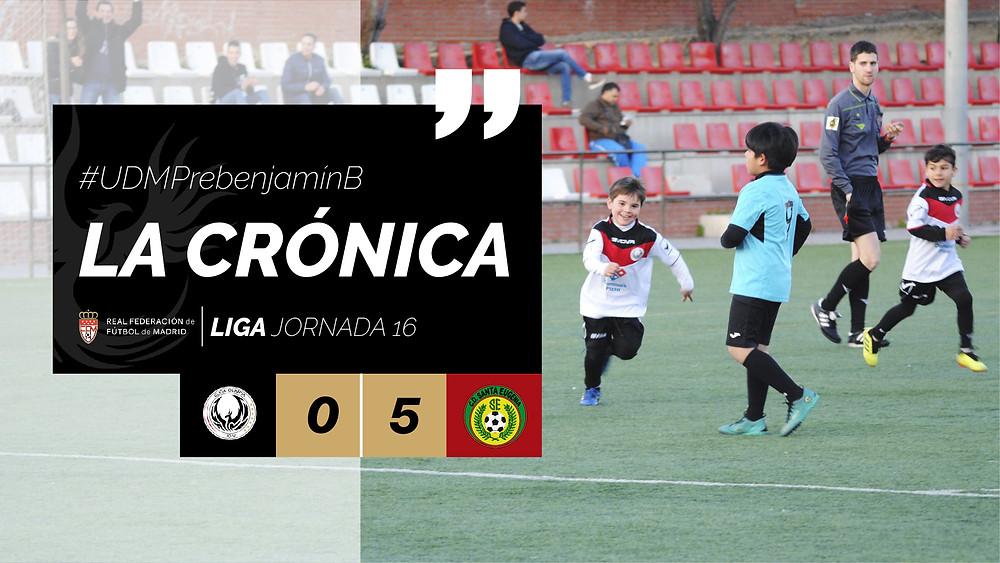 La Crónica #UDMPrebenjamínB JORNADA 16