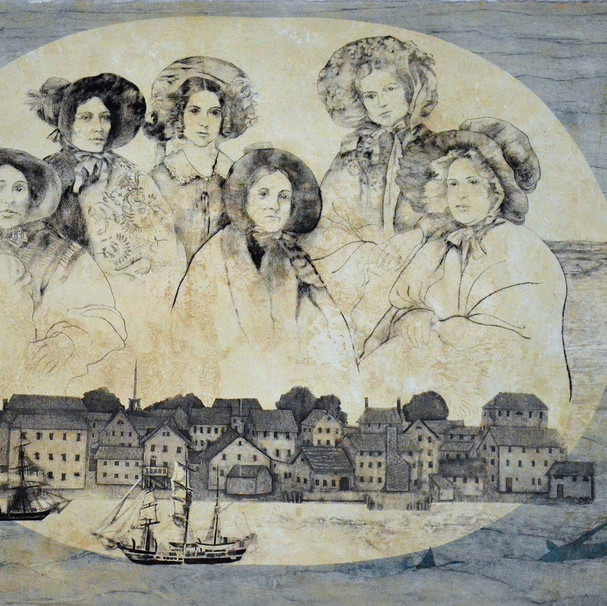 The women of New Bedford: Captains' wives